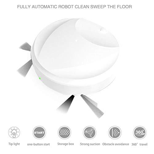 SummerRio 3-in-1 Aspirapolvere Automatico Domestico Lazy Sweeper Multifunzione Aspirapolvere Robot