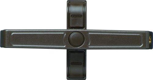 ABUS Fenster-Zusatzschloss 2520 B braun für Doppelflügelfenster AL0125 gleichschließend 31756