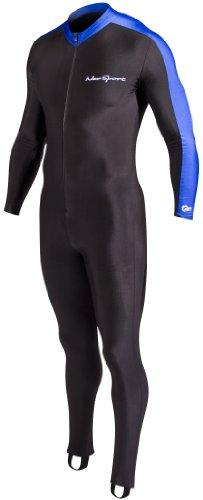 NeoSport Combinaisons de plongée intégrale Sports Skins–plongée, plongée avec Tuba et Natation, Mixte, Noir/Bleu