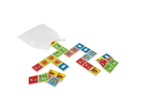 Hape Mix und Match Zoo Tiere (Double-sided-match)