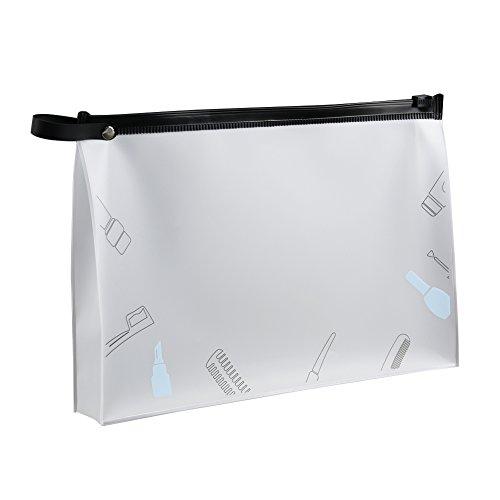 Transparent EVA Zipper Make Up Sac Portable Étanche Mat Cosmétique Organisateur Bain Lavage Pochette De Rangement