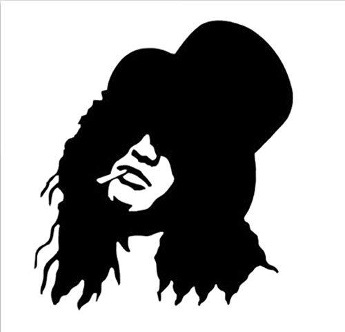 ash Guns N 'Roses Mode Aufkleber Aufkleber Auto Styling Vinyl Schwarz/Silber/3PCS ()