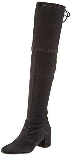Högl Damen Long Liner Overknees, schwarz (schwarz 0100), 37 EU (Frauen Boot-liner Für)