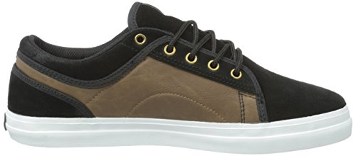 DVS Shoes Aversa, Chaussures de Skateboard Mixte Adulte, Noir Schwarz (Black Brown Suede)