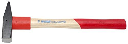 Unior 812A Schlosserhammer mit Holzstiel und Schlagschutz, 300 mm