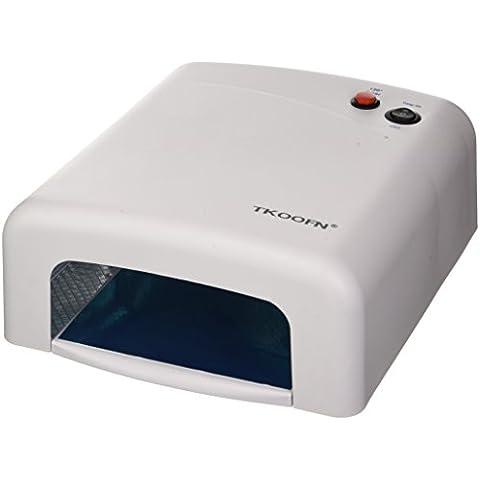 Profesional de uñas eléctrico y secador UV Gel máquina del dedo del pie uña arte polaco lámpara secador UE 220V
