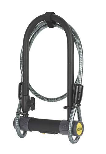Yale YUL2C/13/230/1 High Defendor U - Candado para bicicleta con cable
