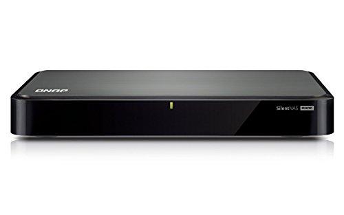 QNAP HS-251 NAS-System (Intel Celeron Dual-Core Prozessor, HDMI, 2,4GHz, 2-Bay, 1GB DDR3L RAM, 60 Watt, 2x USB 2.0, 2x USB 3.0)