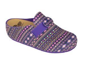 Dr.scholl lareth purple multi ciabatta donna fantasia bioprint (38 eu)