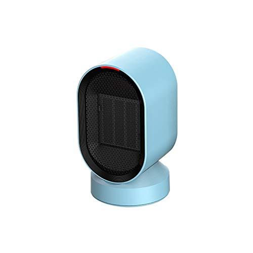 XHDX Riscaldatore Elettrico, Compact Mini Termoventilatore Ceramica Portatile Protezione Silenziatore Contro Surriscaldamento E Inclinazione,c