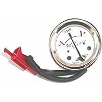 85C1 DC 0-50A Prüfbereich 75MV Analoganzeige Panel Meter Amperemeter Weiß