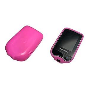 31jdcSjf9rL. SS300  - Schutzhülle/Cover für Freestyle Libre Blutzucker Messgerät, Anti-Rutsch Material,100% passgenau in Pink