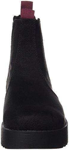 MTNG Collection (MTNGC) Damen 53997 Chelsea Boots Schwarz (Soft Negro/Elastico Negro)