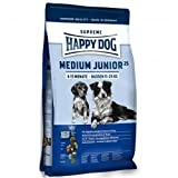 Happy Dog Surpreme Medium Junior25 1 kg, Futter, Tierfutter, Hundefutter trocken