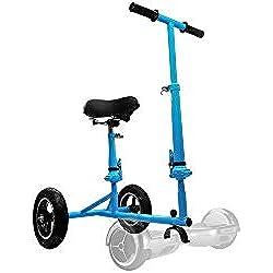 Intense Devices Portable y Practico Hoverbike, Hoverbike Hoverkart Accesorio para Patinete electrico Hoverboard (Azul)
