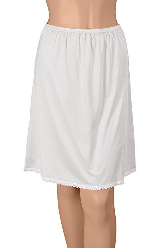 Gemsli Damen Hosenunterrock 24 Inch White