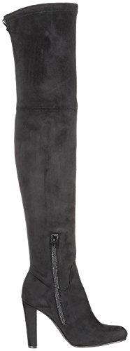 Buffalo London 2861 Micro Strech, Stivali Donna Nero (Negro 01 001)