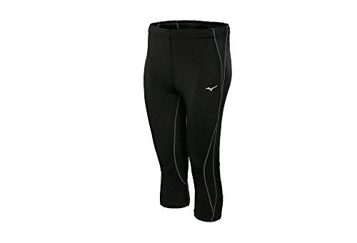 Mizuno da uomo Biogear BG30003/4tight pantaloni, Uomo, Biogear BG3000 3/4 Tight, Black Black