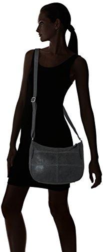 s.Oliver (Bags) - 39.707.94.6000, Borse a spalla Donna Nero (Black)