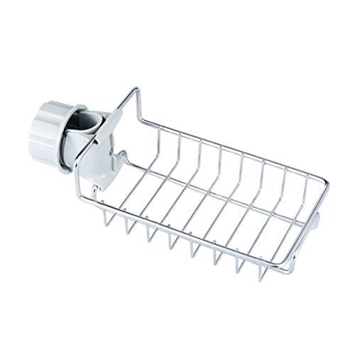 koowaa Edelstahl Wasserhahn Hängen Waschbecken Lagerregal für Bad Küche Tuch Clip Trockenen Handtuch Schublade Organizer