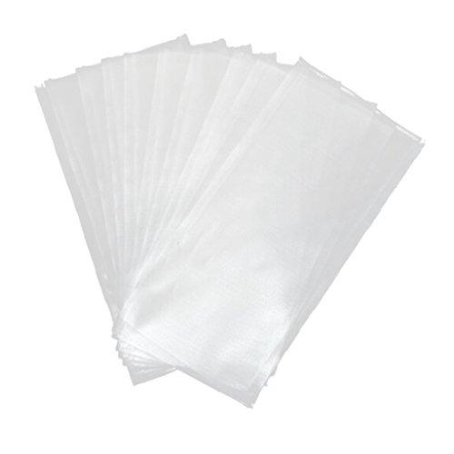 Wasserlösliche Packs (Generic 50 Stück/Pack Wasserlöslich PVA Bags / PVA Beutel / PVA Tüten für Karpfenköder - Köder Beutel - 7x15cm)