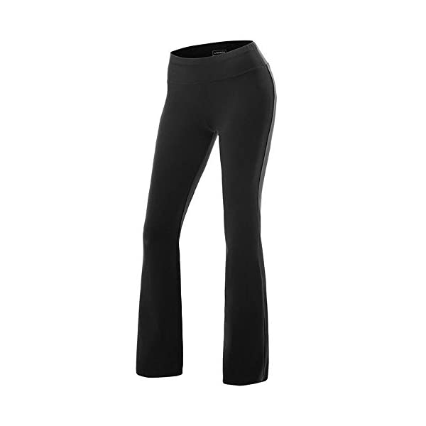 ef14cc39cd8bc ... FITTOO Women Casual Boot Cut Yoga Pants Ladies Stretch Softy Trousers  Pilates Workout Gym leggings. Sale! 🔍. On Sale