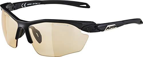 ALPINA Erwachsene Twist Five HR VL+ Sportbrille, Black matt, One Size