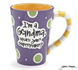 Best Grandma T-shirts - I'm A Grandma. What's Your Superpower Mug Review