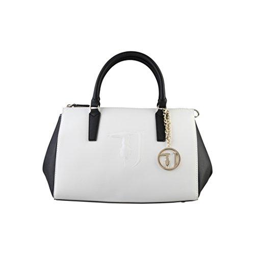 TRUSSARDI JEANS femmes boîte sac top 75B554 105 Blanc