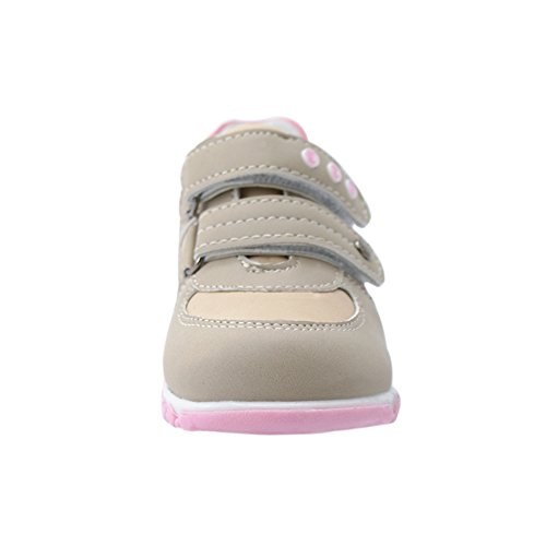 Halbschuhe Komfortabel für Mädchen Walkingschuhe Sportschuhe (1076w) Beige