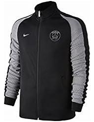 Nike M Nsw N98 Trk Jkt Aut - Veste ligne Paris Saint Germain Homme, couleur Noir, taille