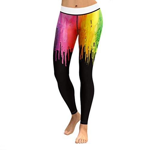 Damen Elastizität Sporthosen Leggings, LeeMon Yoga Hose Hose Gym Aktive Gefaltete Hosen Gym Running Fitness Leggings