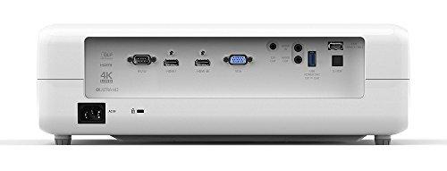 Optoma UHD40 4K DLP Projektor (UHD, 2400 Lumen, 500.000:1 Kontrast) - 2