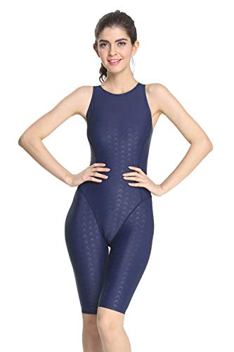 e2dfe2e9cd Srnfean Women`s Professional Athletic Swimwear One Piece Swimsuit Swimwear  Swimming Pool Training Suit Girls