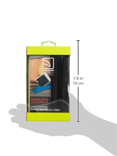 Tucano Kiss 2Coque avec ceinture pour Apple iPhone/Smartphone 15cm (6pouces) Noir noir