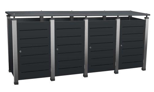m lltonnenbox selber bauen 10 genaue anleitungen und tipps. Black Bedroom Furniture Sets. Home Design Ideas