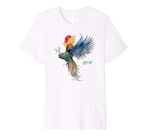 2017Chinesisches Jahr der The Rooster T-Shirt