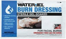 Water Jel Burn Dressing (Water-Jel 1216-20 Technologies 12 X 16 Foil Pack Sterile Gel-Soaked Burn Dressing (1/EA) by Water-Jel Technologies)