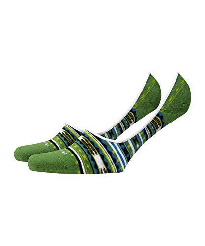 Arizona Socke (Burlington Herren Arizona Socken, grün, 43-46)