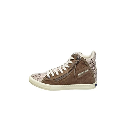 Sneakers Femme Snake Caribou Beige
