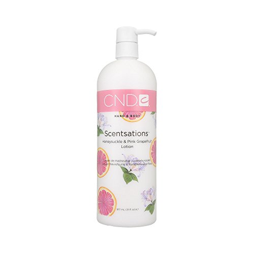 CND HAND&BODY LOTION HONEYSUCKLE&GRAPEFRUIT 917ML - Scentsations Lotions