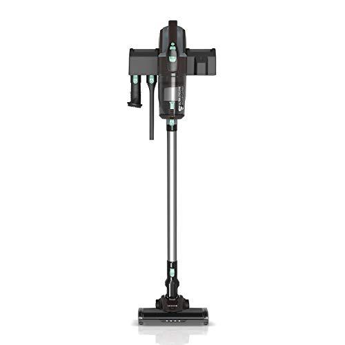 IKOHS Mambo VG201 - Aspiradora Vertical sin Cable 3 en 1, Aspirador Escoba y de Mano sin Bolsa, con Filtro HEPA, Batería 22.2V,600ml, Multifuncional, 3 Velocidades, Muy silencioso Nivel Sonoro 75 Db