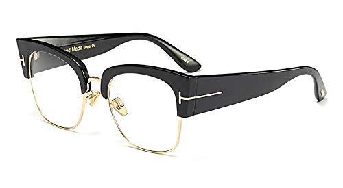 GFF Dame 's Klassische übergroße Sonnenbrille für Frauen-Katzenauge-Glas-Rahmen-Art- und Weisebrillen-UVschutz 45061