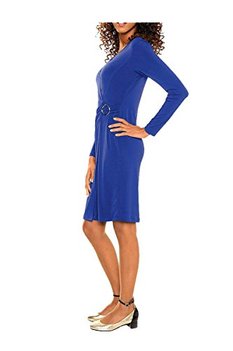 Kleid Shirtkleid von Best Connections Royalblau