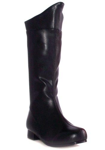Ellie Shoes 212577 Shazam - Schwarz - Kinder Stiefel - Black - X-Large - 4-5 (Shazam Schwarzen Kostüm)