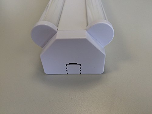MÜLLER-LICHT LED Werkstattleuchte Basic 1,20 m 2-Flammig für Wand-und Deckenmontage, 5000 Lm, Aluminium, 60 W, Weiß, 120 x 7.5 x 5.1 cm - 5