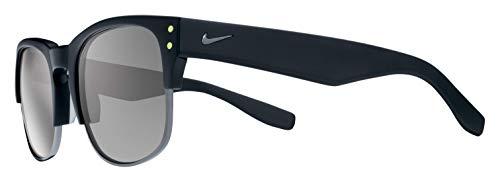 Nike Unisex-Erwachsene VOLITION EV0879 001 54 Sonnenbrille, Grau (Mt Blk/Gn Smk W/Gry L),