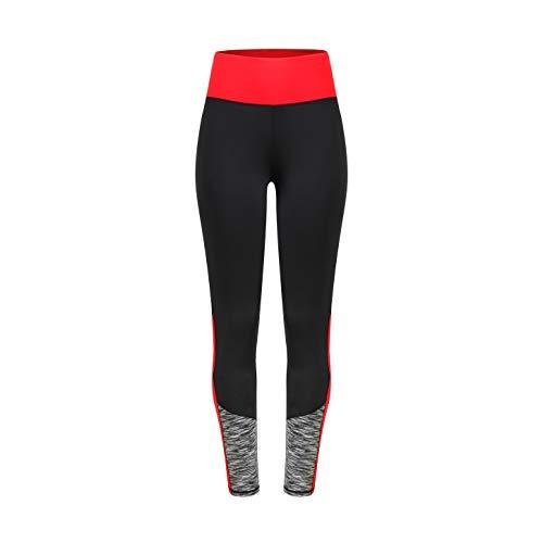Eono Essentials leggings attillati vita alta elasticizzati da donna per yoga