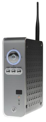 Freecom Network MediaPlayer-450 250GB 8,9 cm (3,5 Zoll) externe Multimedia-Festplatte USB 2.0 Wlan mit Audio- und Video-Anschlüssen