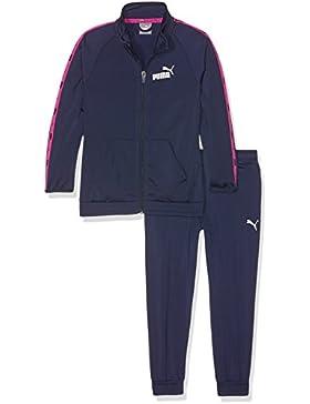 Puma–Chándal para niños Tape Tricot Suit cl g, infantil, Tape Tricot Suit cl G, Peacoat, 12 años (152 cm)